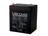 12 Volts 4Ah -Terminal F1 - SLA/AGM Battery - UB1240
