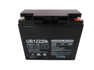 12 Volts 22Ah -Terminal Internal Thread - SLA/AGM Battery - UB12220 | Battery Specialist Canada
