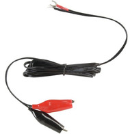 Alligator Clips on 6 Foot Cord For Battery Charger With Screw Terminals - D1766 | Battery Specialist Canada