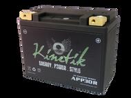 YTX24HL-BS - Kinetik Phantom LiFePO4 Battery | Battery Specialist Canada