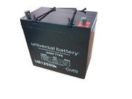 Group 22NF Deep Cycle AGM Marine Battery - 12V 55Ah - Nut & Bot Terminal| batteryspecialist.ca