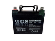 Group U1 Deep Cycle AGM Marine Battery - 12V 35Ah - Nut & Bot Terminal| Battery Specialist Canada