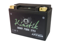 YTX20L-BS - Kinetik Phantom LiFePO4 Battery | Battery Specialist Canada