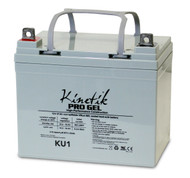 2 Volts 31Ah Kinetik Pro Gel Battery - Terminal L - Group U1 - KU1 | Battery Specialist Canada