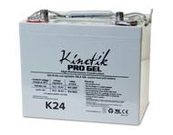 K24 - 12 Volts 75Ah Kinetik Pro Gel Battery - Terminal Z1 - Group 24 | Battery Specialist Canada