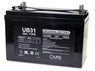 12 Volt 100 Ah Gel Cell Sealed Lead Acid Battery - UB31 Gel | Battery Specialist Canada