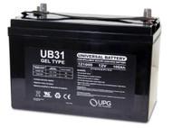 12 Volt 100 Ah Gel Cell Sealed Lead Acid Battery - UB31 Gel | Battery Specialist Canada