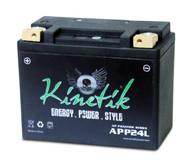 YTX20H-BS - Kinetik Phantom LiFePO4 Battery - APP24L | Battery Specialist Canada