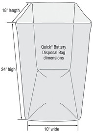 Battery Disposal Bags