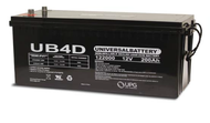 12 Volts 200Ah -Terminal Auto Post - SLA/AGM Battery - UB-4D AGM | Battery Specialist Canada