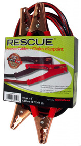 Booster Cable - 8 Gauge - 12' Long - 200 Amps Alligator Clamp | Battery Specialist Canada