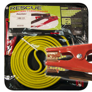 Booster Cable, 4 Guage, 16' Long, 400 Amps, Mechanic Clamp