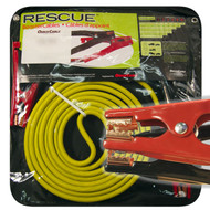 Booster Cable, 4 Guage, 25 Long, 400 Amps, Mechanic Clamp