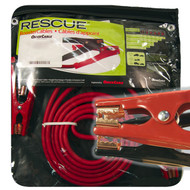 Booster Cable, 2 Guage, 20 Long, 500 Amps, Mechanic Clamp