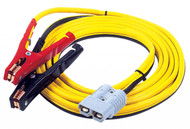 2 GA 25', 500 AMP CLAMP-TO-PLUG CABLE