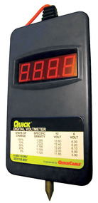 Digital Volt Meter For Battery Testing