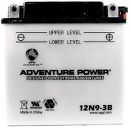 Power Sport Conventional - 12N9-3B - 12 Volts 9 Amp Hrs | Battery Specialist Canada