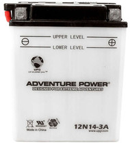 Power Sport Conventional - 12N14-3A - 12 Volts 14 Amp Hrs | Battery Specialist Canada