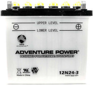 Power Sport Conventional - 12N24-3 - 12 Volts 24 Amp Hrs | Battery Specialist Canada