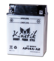 Power Sport Conventional - YB14A-A2 - 12 Volts 14 Amp Hrs | Battery Specialist Canada