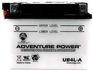 Power Sport Conventional - YB4L-A - 12 Volts 4 Amp Hrs | Battery Specialist Canada