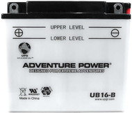 Power Sport Conventional - YB16-B - 12 Volts 19 Amp Hrs | Battery Specialist Canada