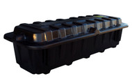 Group 8D Battery Box - End To End - Black   Battery Specialist Canada