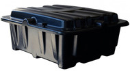 Group 8D Dual Battery Box - Side By Side - Black   Battery Specialist Canada