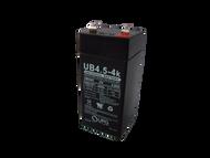 4 Volts 4.5Ah -Terminal F2 -SLA/AGM Battery - UB445 | Battery Specialist Canada
