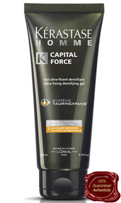 Kerastase | Homme | Capital Force Ultra-Fixing Densifying Gel