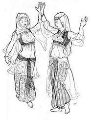 Belly Dance Pattern #27 - Bahiga's Blouse by Atira
