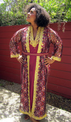 Berber 2-Piece Caftan from Morocco - Turquoise Only