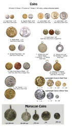 Coins for Costuming