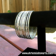 Belly Dance Gold/Silver Tone Metal Bangles - Belly Dance Gold/Silver Tone Metal Bangles