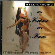 Bellydancing for Fortune and Fame ~ The Mogador Band with Spiro Cardamis ~ Belly Dance Music CD