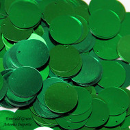 Emerald Green Paillettes (Spangles)