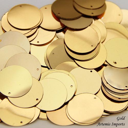 Gold Paillettes (Spangles)