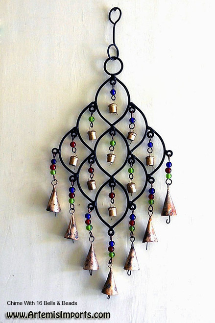Chime With 16 Bells & Beads