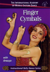 Finger Cymbals with Ansuya DVD ~ Belly Dance Instructional DVD