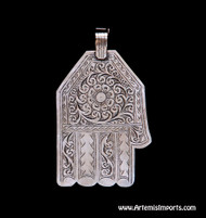 Hand of Fatima / Hamsa ~ Medium Angular Shape