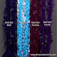 Medium Mozuna Ropes From Morocco - Turquoise Only - Belly Dance