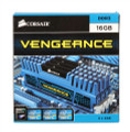 Corsair Vengeance Series 16GB DDR3-1600 (PC3-12800) CL9 Dual Channel Desktop Memory Kit