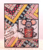 Sew Happy Cocoa Clear Stamp Set
