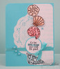 Flourish Seashells Clear Stamp Set
