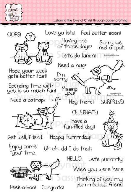 LOL Cats Clear Stamp Set