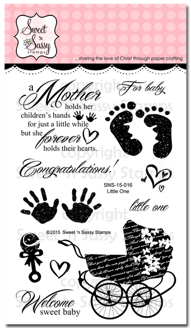 Little One Clear Stamp Set