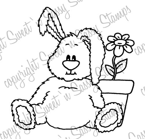 Benjamin Bunny Digital Stamp