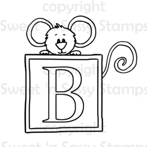 Cocoa's Baby Block Digital Stamp
