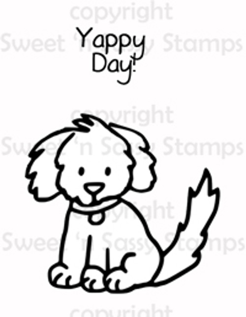 Yappy Day Digital Stamp