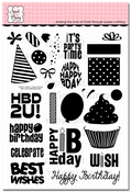 Birthday Bash Clear Stamp Set